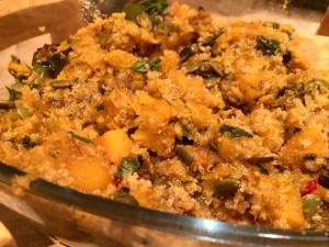 Pumpkin Quinoa Dish